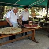 Sampling local products in Croatia