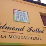 A mustard factory near Dijon, France