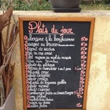 Today's menu - full of local delights!
