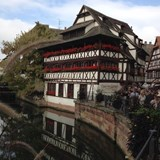 The famous Tanner's House in Strasbourg