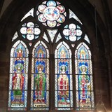 Stained glass windows, Notre-Dame de Strasbourg