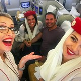 Flying Emirates from LAX