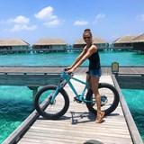 Fat tire bike at Velaa Maldives