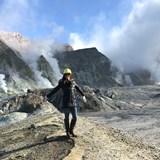 Active Volcano in New Zealand