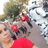 No smiling! Storm Troopers are here to protect!