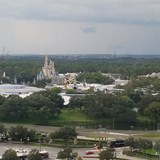 Rooftop view from Contemporary Resort