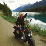 THIS IS ALASKA! Self guided moped tour.