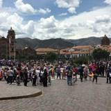 Cuzco Peru Village Square