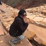 Sonia at the Salt Mines