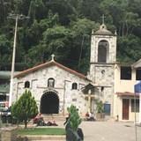 Aquas Calientes the main church in Machu Picchu