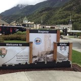 Welcome to Historic Skagway, Alaska