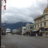 Easy stroll from the port to downtown Skagway