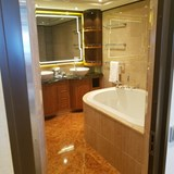 Soaker Tub in a Suite