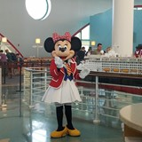 You'll never know WHO pops in the Cruise Terminal!