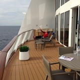 SUITE deck on the aft of the Anthem!