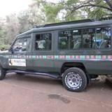 Safari vehicle--the way to travel!