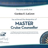 Master Cruise Counselor Since 1983