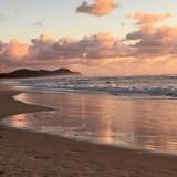Sunrise on Byron Bay Beach