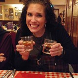 Trying a little Irish Whiskey- I only drank one!
