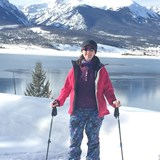 Snowshoeing near Breckenridge, CO