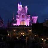 Sleeping Beauty's Castle at Night - Disneyland