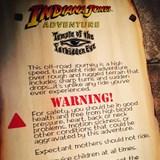 Indian Jones Ride - Disneyland