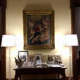 Drinks under a Rubens, Villa Spalletti Trivelli