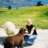 My new friends outside Queenstown, NZ