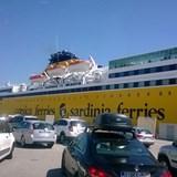 Going to Sardinia from Livorno