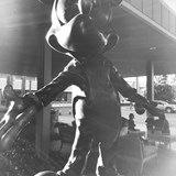 Mickey statue at The Disneyland Hotel