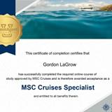 MSC Cruise Specialist