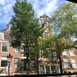 Traditional Dutch architecture in Amsterdam