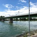 The bridge over the Rhine River