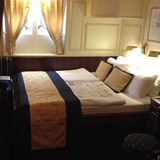 Comfortable accommodations on a tall ship cruise