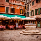 Venice outdoor restaurant