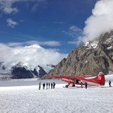 Get up close and personal with a glacier in Alaska