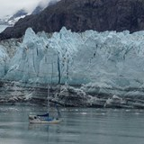 Up close and personal with a Glacier in Alaska
