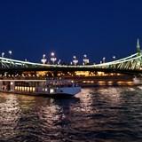 Budapest is beautiful at night