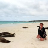 Me on Espanola Island- Galapagos