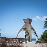 Dreams Riviera Cancun Mexican style gazebo!