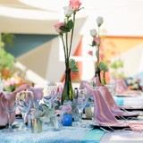 Dreams Sands Cancun wedding table