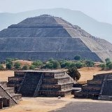 Sun Pyramid, Teotihuacan -Place of the Aztecs Gods