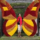 Me  in the middle of a Flower Butterfly FestivaL
