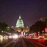 The US Capitol as seen from Pennsylvania Ave NW