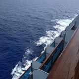 Day at Sea, balcony view