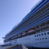 Caribbean Princess in port
