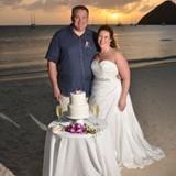Clients at Sandals St Lucia Destination Wedding