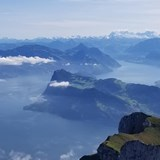 View from Mt Pilatus