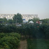 Different viewpoint of Olympic Stadium