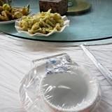 Lazy Susan lunch styles in Beijing